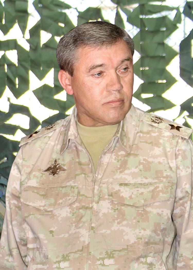 Начальник Генштаба Вооруженных сил России генерал армии Валерий Герасимов