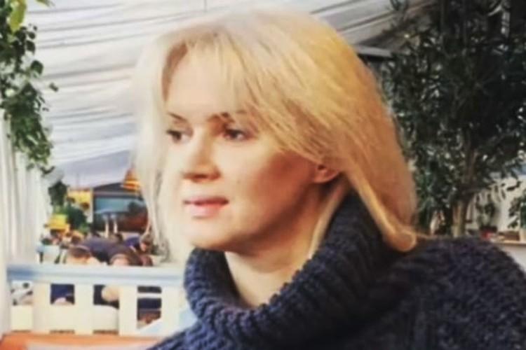 Бывшая супруга Александра Серова Елена.