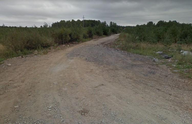 Так дорога выглядела до ермонта