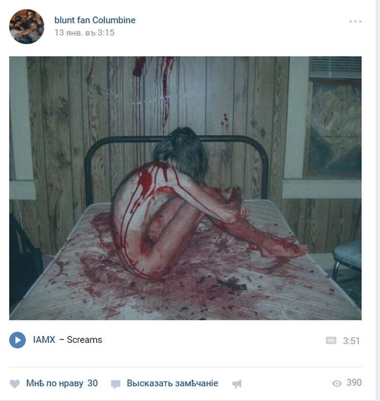 """Основной контент в группах, посвященных трагедии в """"Колумбайн"""" - фото жертв насилия..."""