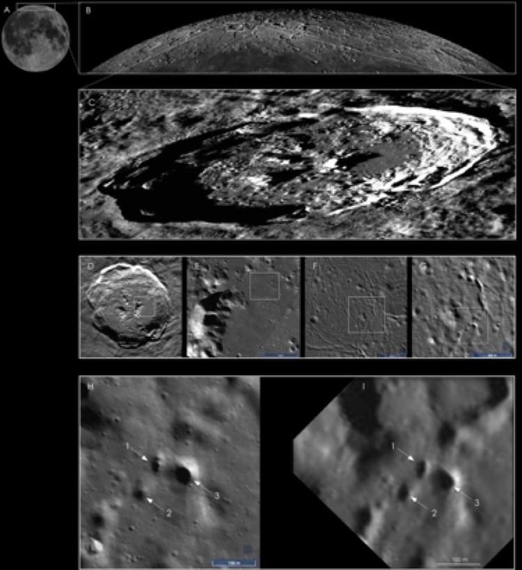 Специалисты института SETI указали точное место расположения ходов в недра Луны - будущие переселенцы их легко найдут.
