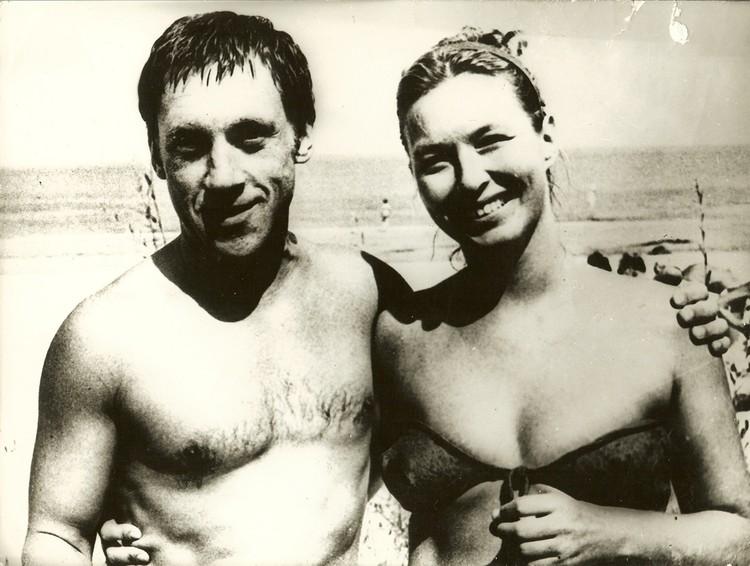 Владимир Высоцкий и Марина Влади. 1970-е годы. Фото: Личный архив И. Кобзона