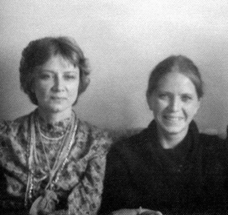 Вера Савина и Алла Демидова. Фото: архив Веры Савиной