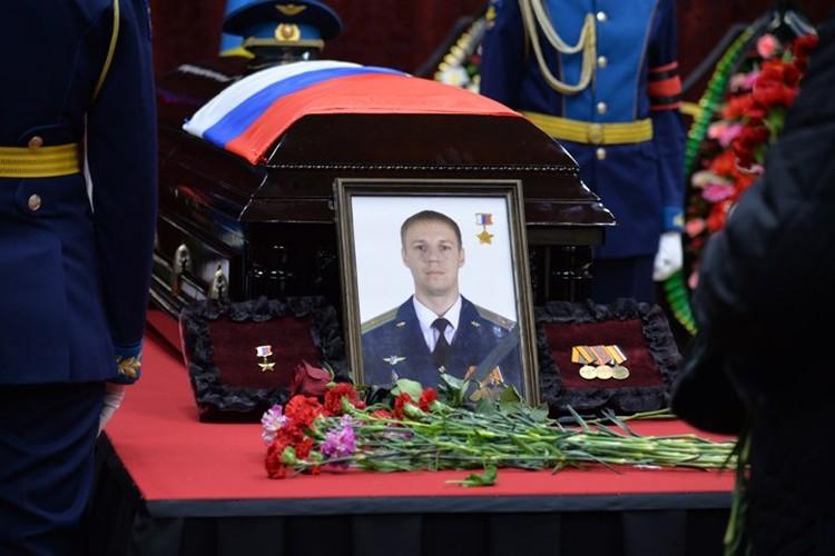 Герой России Роман Филипов.