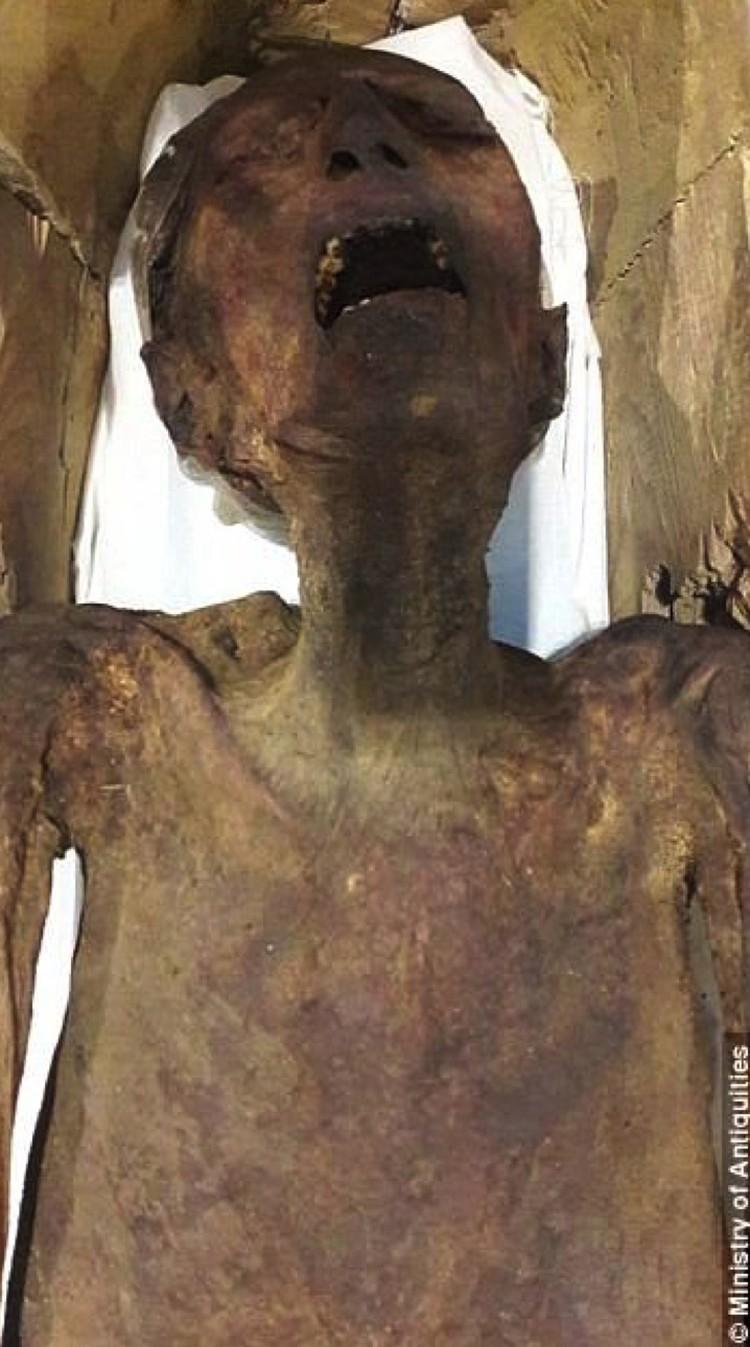 """Мумия """"кричит"""" уже более 3 тысяч лет."""