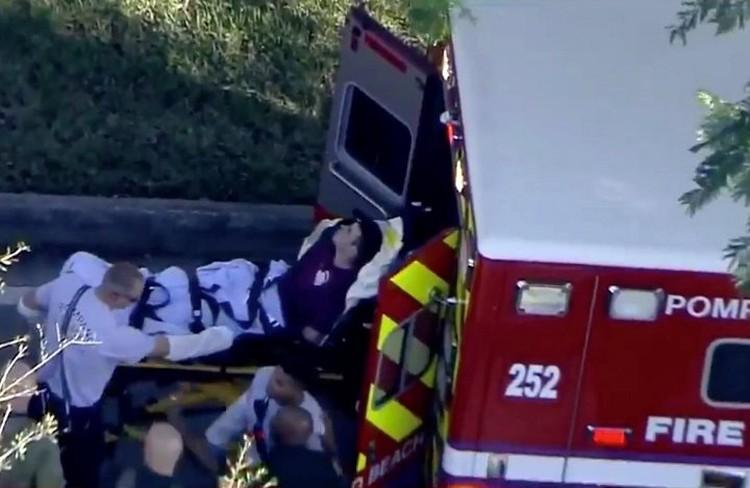 Раненых, после оказания первой помощи, отправляют в медицинский центр Броварда и городскую больницу Health North