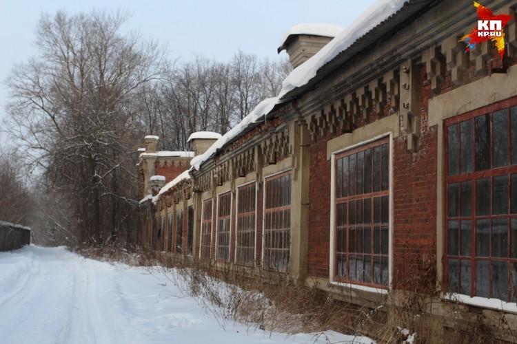 По дороге к даче через городок Рябушинского