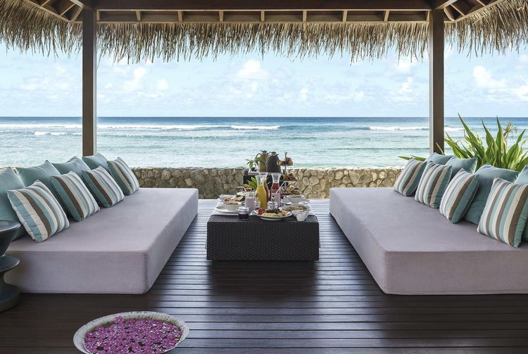 Лакшери-отель Shangri-La's Villingili Resort & Spa на Мальдивах.