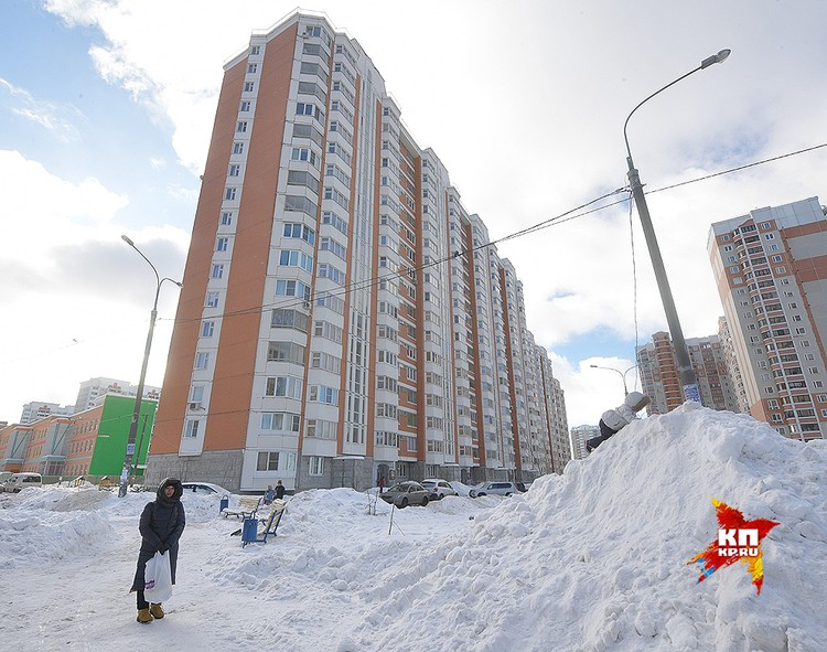 Дом, в котором расположена квартира Юлии Стариковой.