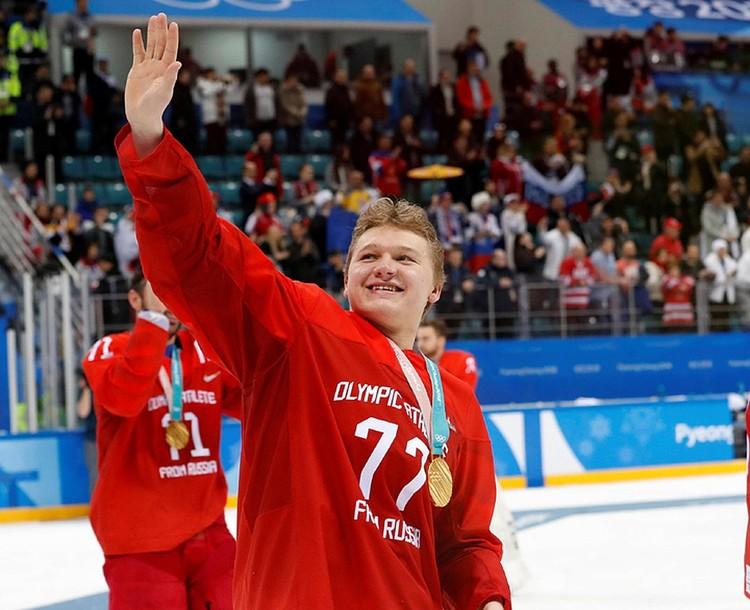 Кирилл Капризов - самый молодой участник нашей команды. Ему всего 20 лет. Фото: Кирилл Капризов/instagram