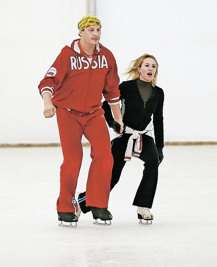 Дмитрий Марьянов и Ирина Лобачева познакомились на съемках «Ледникового периода».