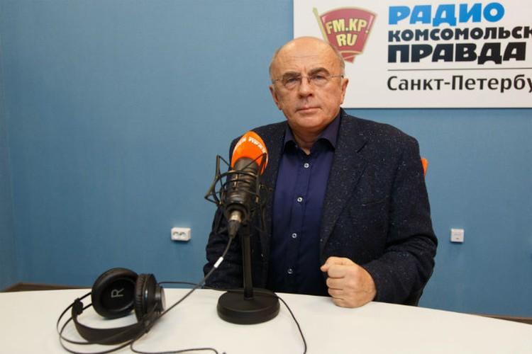 Ректор СПбГУП на Радио «Комсомольская правда в Санкт-Петербурге»