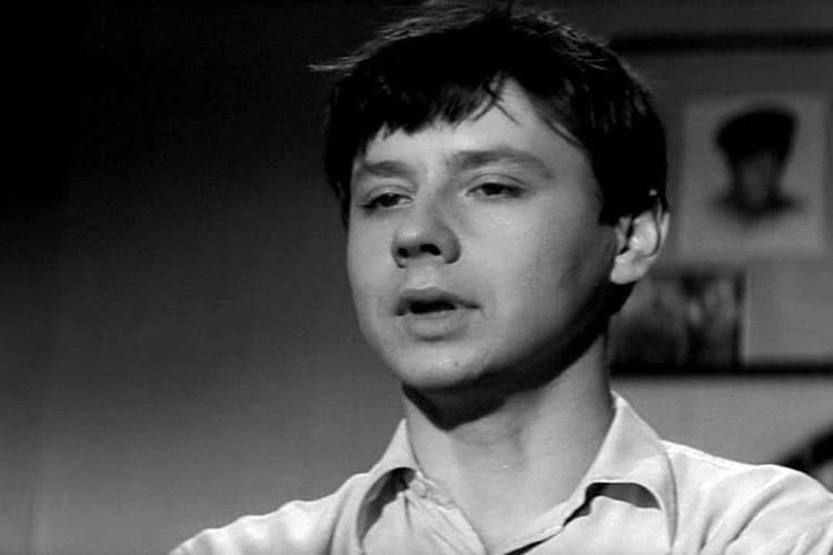 «Шумный день», школьник Олег Савин, 1960 год.