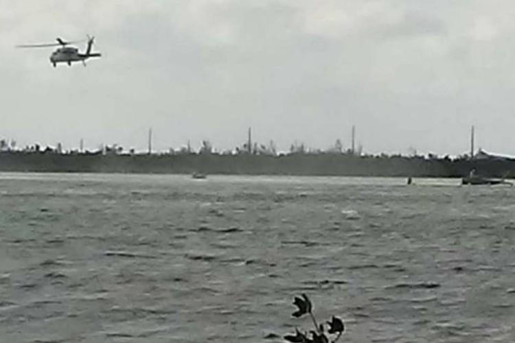 В поисково-спасательной операции на месте крушения истребителя во Флориде были задействованы вертолеты