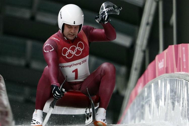 Семен сразу после финиша на Олимпиаде в Пхенчхане. Фото: REUTERS.