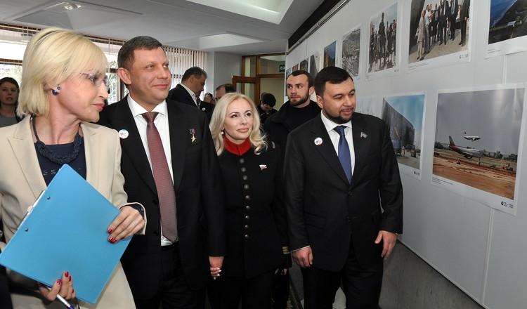 Поздравить крымчан приехали гости из ДНР.