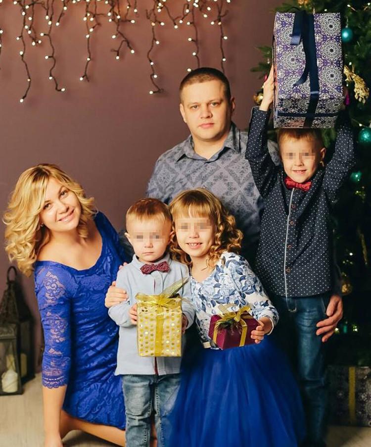Многодетный отец Игорь Востриков потерял в страшном пожаре всю семью