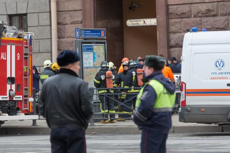 Заходить в метро после случившегося было страшно. Но спасателям пришлось.