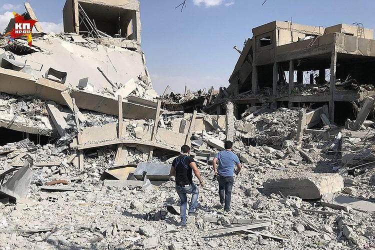 США, Великобритания и Франция нанесли ракетный удар по Сирии. Эта атака стала ответом на возможное применение химического оружия в городе Дума