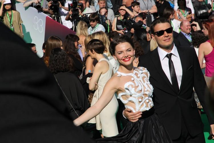 Елизавета Боярская и ее муж Максим Матвеев в 2011 году.