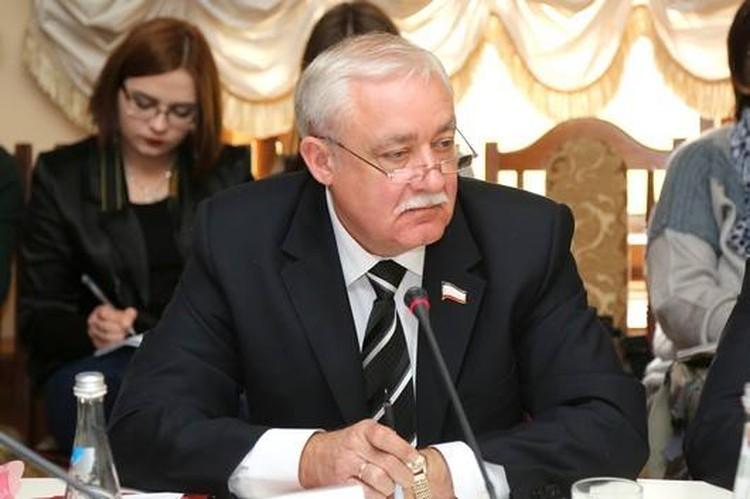 Юрий Гемпель, депутат Госсовета Крыма, Председатель Республиканского общества немцев Крыма