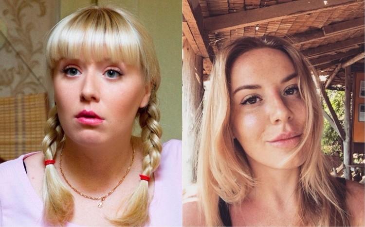 """Фото из официальной группы сериала """"ВКонтакте"""" и из Instagram актрисы"""