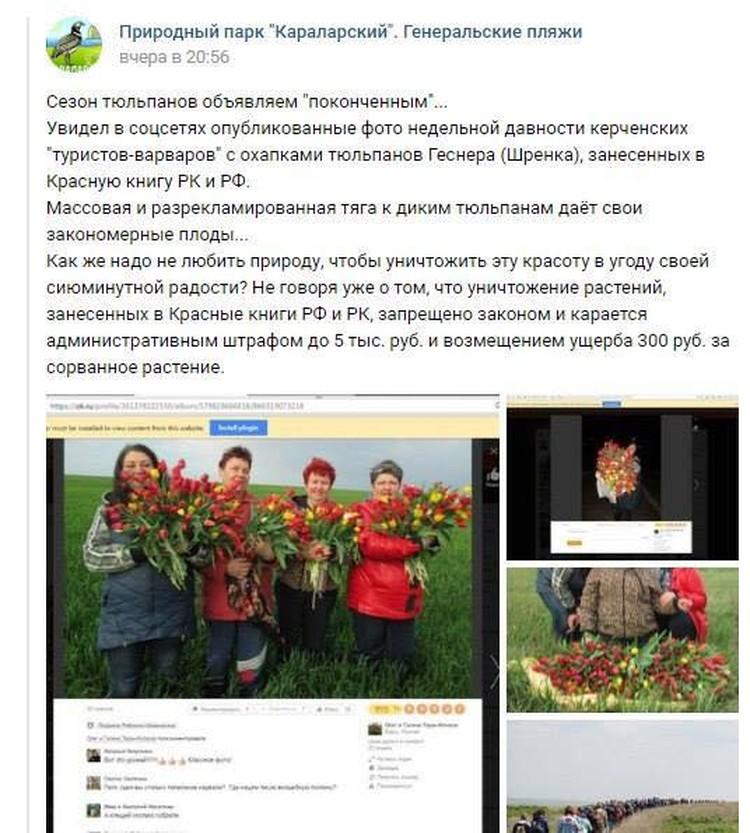 Пост Александра Рудык разошелся по соцсетям.