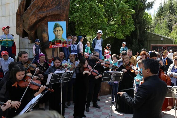 Музыканты президентского камерного оркестра «Манас» исполнили знаменитую мелодию «Эсимде».