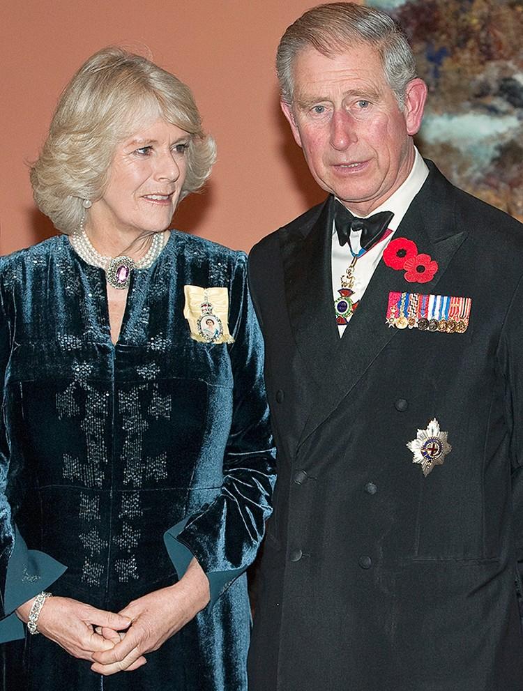 Королева дала согласие на брак Чарльза и разведённой Камиллы Паркер Боулз