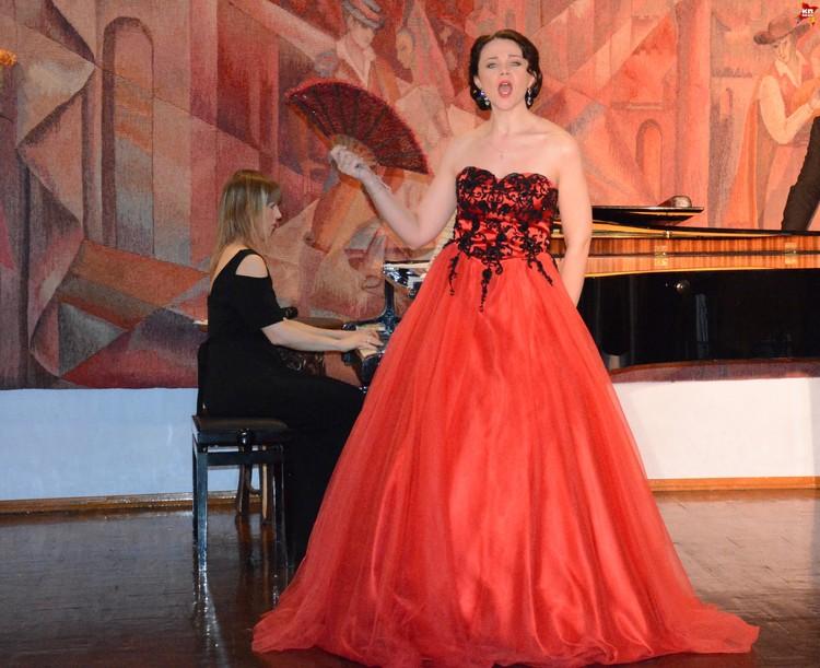 Елена Лодыгина подарила публике изумительную арию Джудитты из одноименной оперетты Ф.Легара