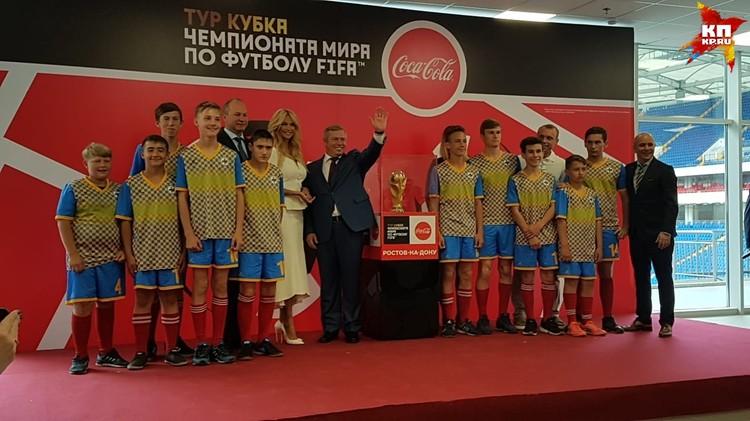Кубок мира по футболу 2018 презентовали в Ростове-на-Дону утром 23 мая.