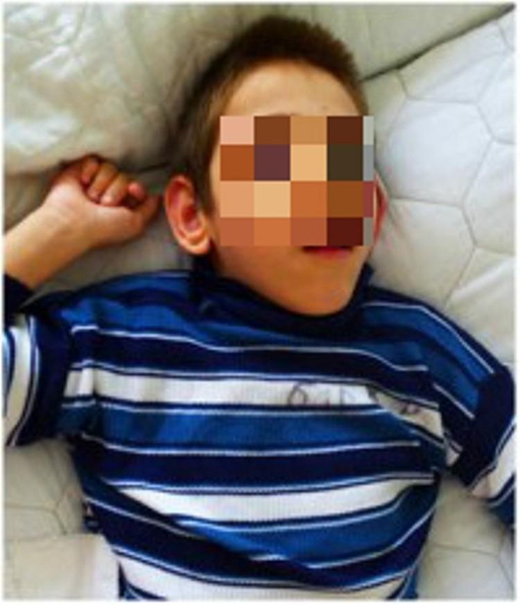 Мальчик оказался жив. Сейчас он прикован к постели