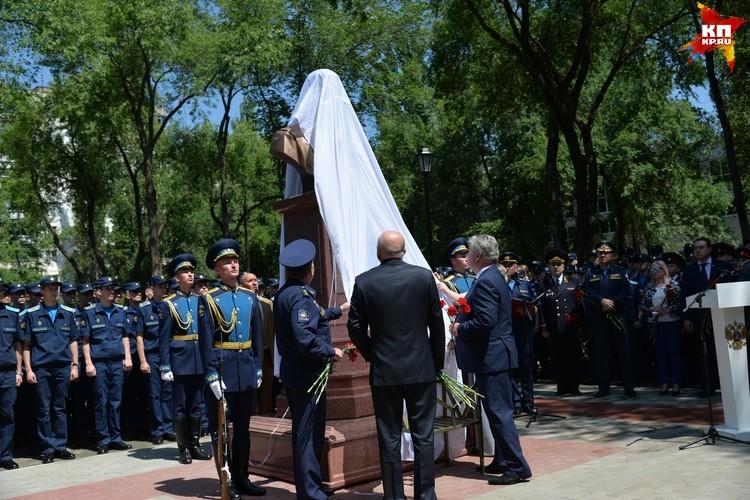 Открытие памятника.