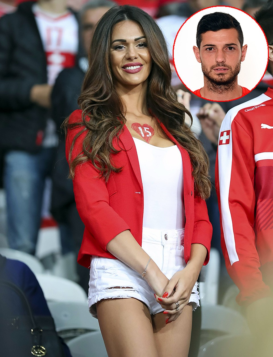 жены итальянских футболистов фото как только закончил