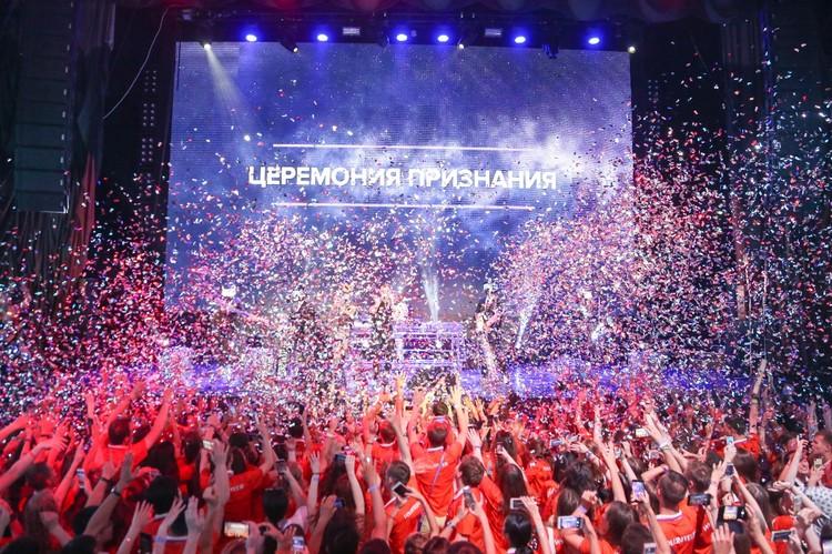 """Этот чемпионат стал настоящим праздником для тысяч волонтеров Фото: Ресурсный центр """"Мосволонтер"""""""