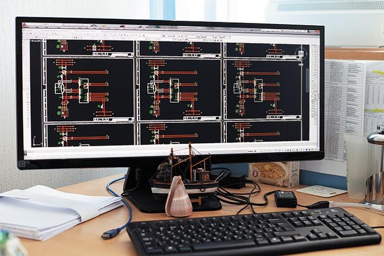 Схема регулирования мощности электронагревателей
