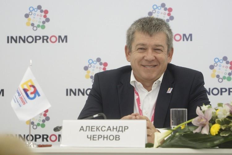 Александр Чернов, генеральный директор Заявочного комитета ЭКСПО 2025, председатель жюри конкурса.