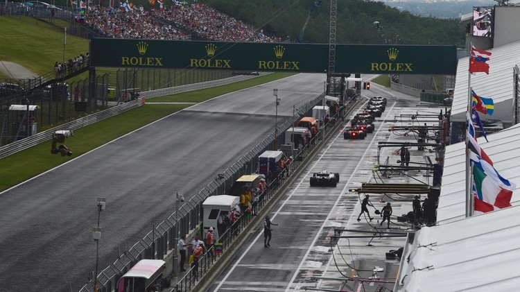 Трасса в Хунгароринге. Фото: Formula1.com