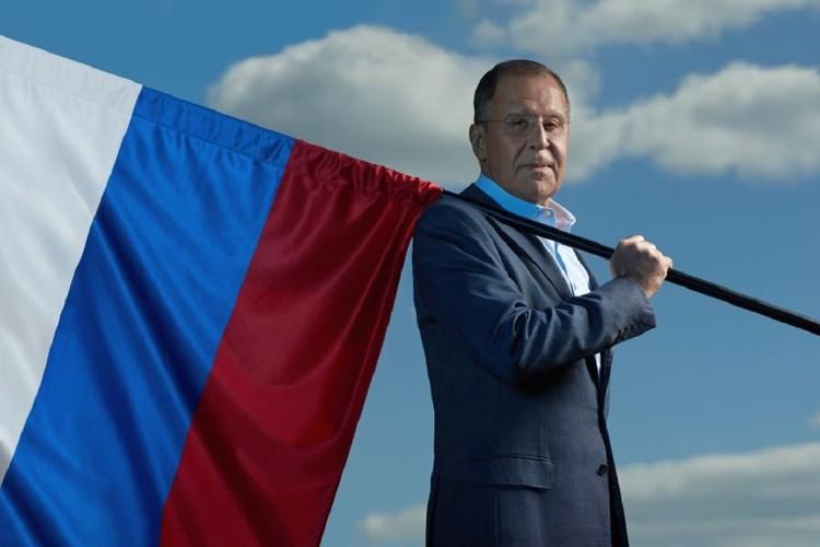 Министр иностранных дел России Сергей Лавров. Фото: МИД РФ/ Twitter