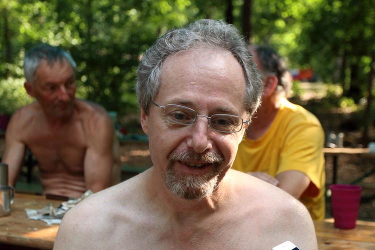 Андрей Компаниец - гость Грушинского фестиваля из США
