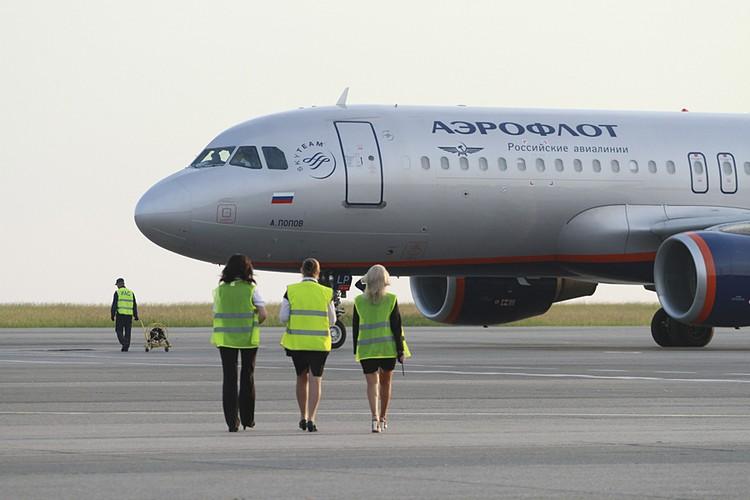 «Аэрофлоту», хотят запретить летать в Америку