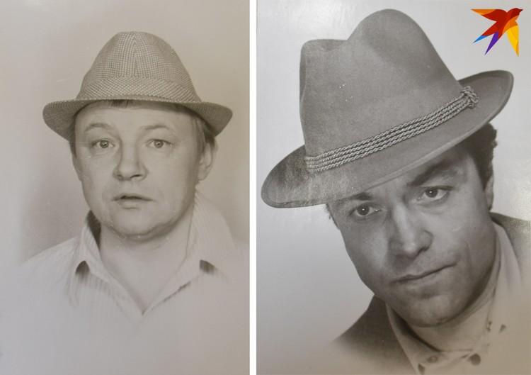 Видимо, режиссер не представлял Андрея без шляпы – в ней пробовались и Александр Денисов (справа), и Михаил Кононов.