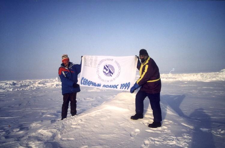 В 75 лет альпинист стал старейшим в мире покорителем Северного полюса Фото: предоставлено Гуманитарным университетом профсоюзов