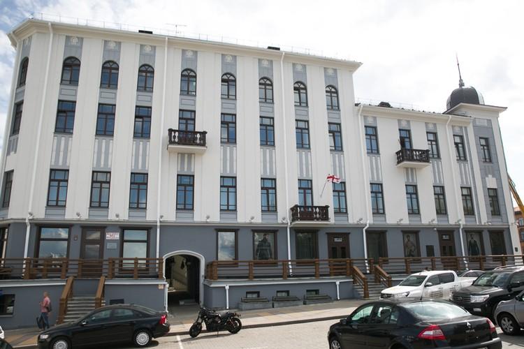 Посольство Грузии в Минске открылось в 2007 году.