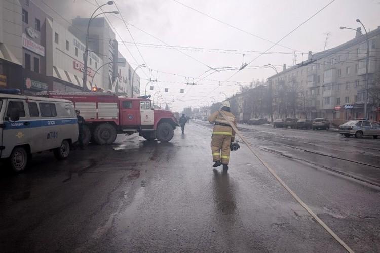 """Пожар в """"Зимней вишне"""" случился 25 марта."""