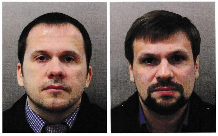 «Агенты ГРУ» Петров и Боширов, обвиненные в отравлении Скрипалей