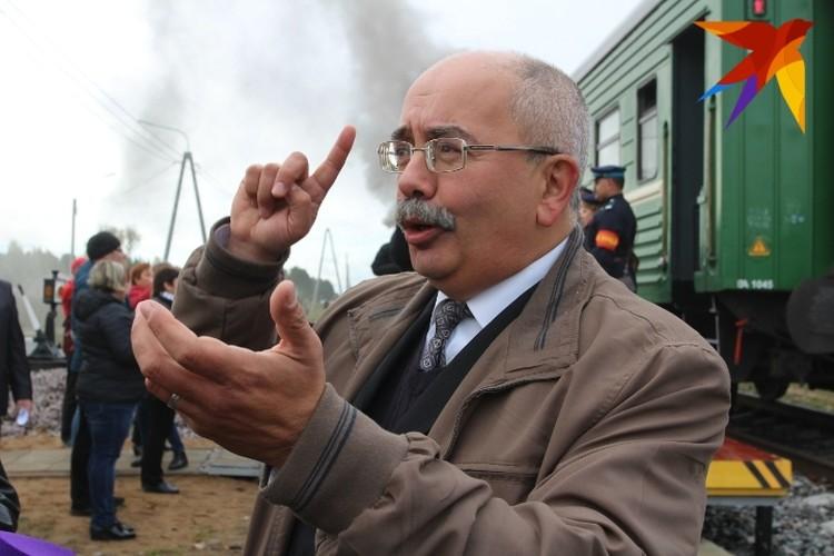 Председатель Общества любителей железных дорог Алексей Вульфов - Сделано было очень многое. Первое...