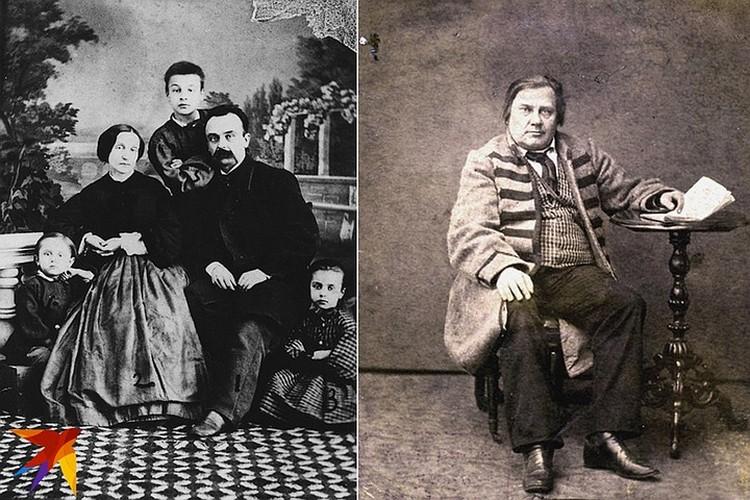Антон Прушинский и его супруга даже в сибирской ссылке умудрились открыть фотоателье, а самое знаменитое фото Прушинского справа - портрет Винцента Дунина-Мартинкевича в чамарке, символе симпатий к повстанцам 1863 года.