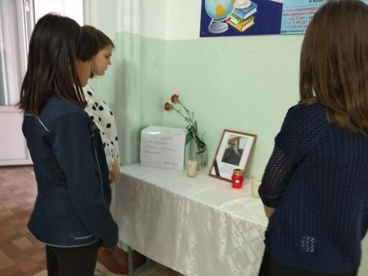 В школе объявили сбор средств Фото: из личного архива Валентины Боровик