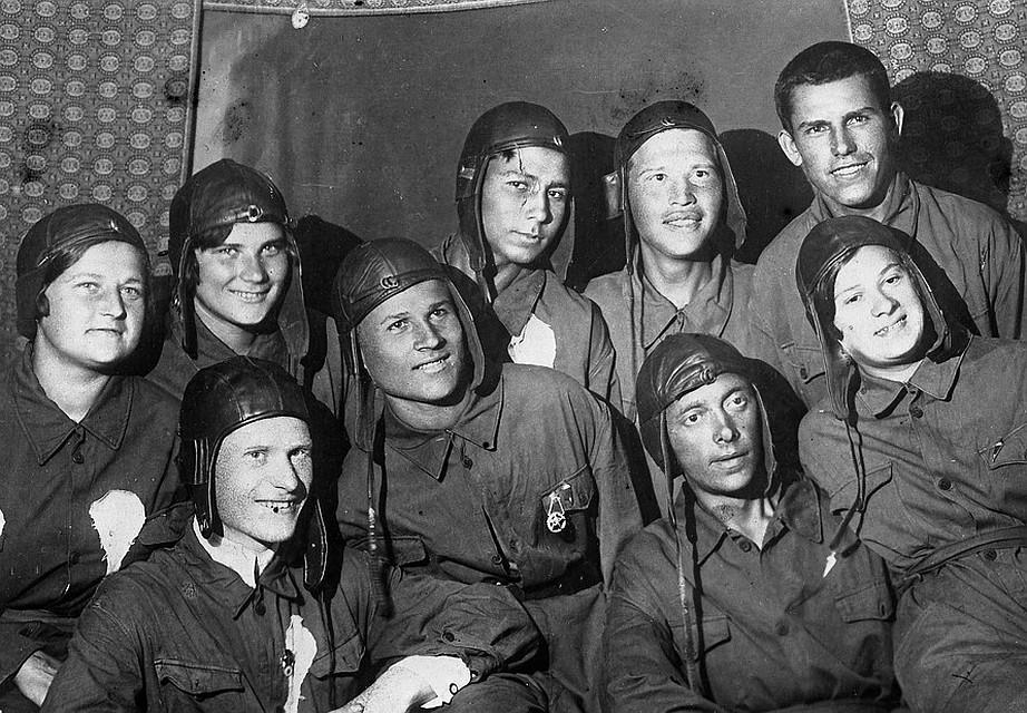 Комсомольцы-метростроевцы в 1936 году, Москва. Фото: GLOBAL LOOK PRESS